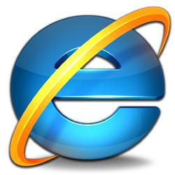 רדיו הד - עמוד הבית ב-Internet Explorer